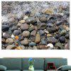 Water Pebbles Multipurpose Decorative Wall Art Sticker - CINZA