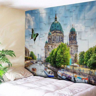 Buy COLORMIX Venice Print Wall Hanging Tapestry for $14.81 in GearBest store