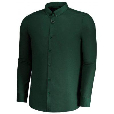 Mens Button Down Formal ShirtMens Shirts<br>Mens Button Down Formal Shirt<br><br>Collar: Turn-down Collar<br>Material: Cotton, Polyester<br>Package Contents: 1 x Shirt<br>Shirts Type: Formal Shirts<br>Sleeve Length: Full<br>Weight: 0.3400kg