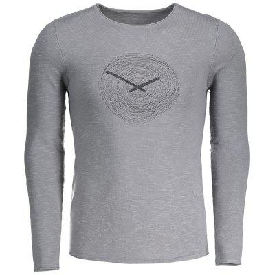 Annual Ring Graphic Mens Sweater