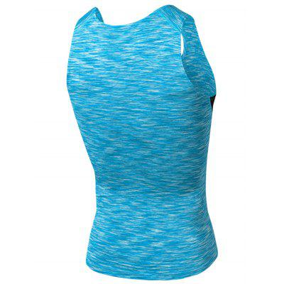 Crew Neck Quick Dry Openwork Panel Fitted Fitness VestSport Clothing<br>Crew Neck Quick Dry Openwork Panel Fitted Fitness Vest<br><br>Elasticity: Elastic<br>Material: Polyester, Spandex<br>Package Contents: 1 x Vest<br>Pattern Type: Solid<br>Type: Vest<br>Weight: 0.1700kg