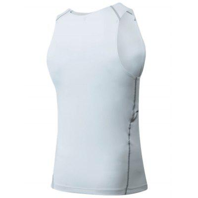 Crew Neck Suture Stretchy Fitness VestSport Clothing<br>Crew Neck Suture Stretchy Fitness Vest<br><br>Material: Polyester, Spandex<br>Package Contents: 1 x Vest<br>Pattern Type: Solid<br>Type: Vest<br>Weight: 0.1800kg