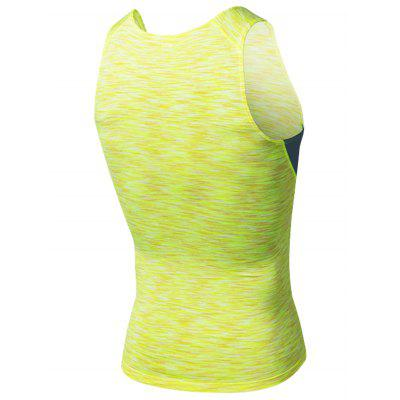 Crew Neck Quick Dry Openwork Panel Fitted Fitness VestCrew Neck Quick Dry Openwork Panel Fitted Fitness Vest<br><br>Elasticity: Elastic<br>Material: Polyester, Spandex<br>Package Contents: 1 x Vest<br>Pattern Type: Solid<br>Type: Vest<br>Weight: 0.1700kg