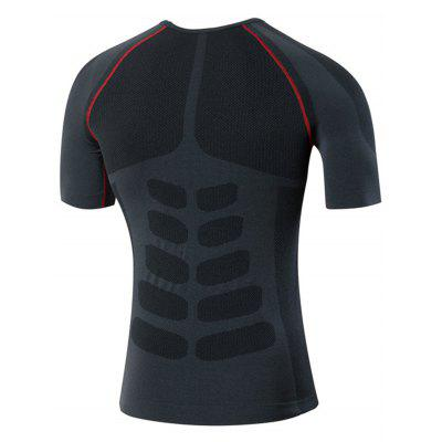 Crew Neck Quick Dry Fitted Stretchy Fitness T-shirtSport Clothing<br>Crew Neck Quick Dry Fitted Stretchy Fitness T-shirt<br><br>Elasticity: Elastic<br>Material: Polyester, Spandex<br>Package Contents: 1 x T-shirt<br>Pattern Type: Solid<br>Type: T-Shirt<br>Weight: 0.2100kg