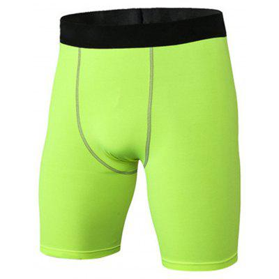 Stretchy Quick Dry Fitted Fitness Jammer Shorts