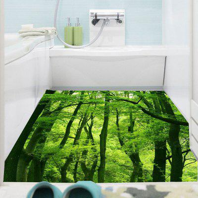 Buy GREEN Forest Printed Decorative Multifunction Wall Art Sticker for $12.13 in GearBest store