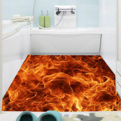 Flame Printed Decorative Multipurpose Wall Art Sticker