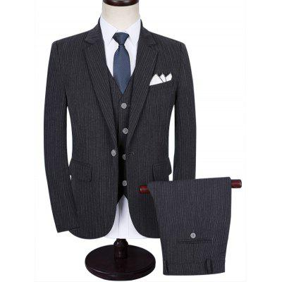 Lapel One Button Casual Business Suit