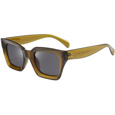 Outdoor UV Protection Full Frame Square Sunglasses