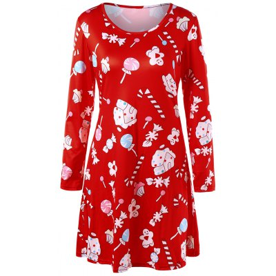 Baked Doll Christmas Candy Party Dress