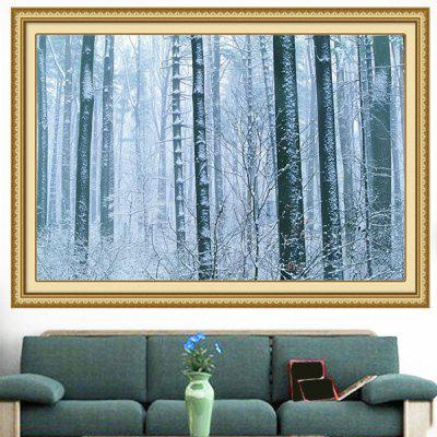 Snowy Forest Decorative Multipurpose Wall Art Painting