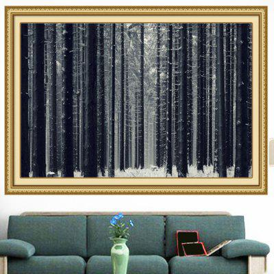 Snowfield Forest Multipurpose Decorative Wall Art Painting