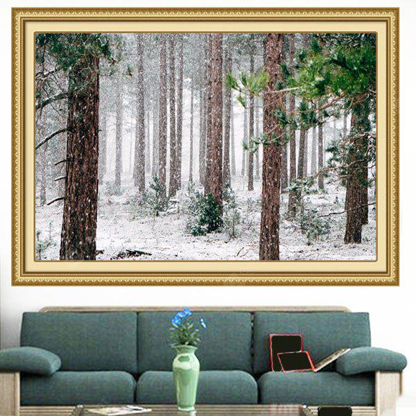 Snowing Forest Multifunction Decorative Wall Art Pintura