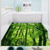 Forest Printed Decorative Multifunction Wall Art Sticker - GREEN