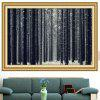 Snowfield Forest Multipurpose Decorative Wall Art Painting - GRAY