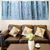 Snowy Forest Dekorative Multipurpose Wand Kunst Malerei - WINDIG