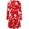 Baked Doll Christmas Candy Party Dress - COLORMIX