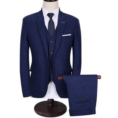 Functional Pocket One 3-Piece Business Suit
