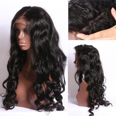 Long Free Part Shaggy Body Wave Synthetic Lace Front Wig