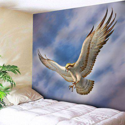 Buy CLOUDY Wall Decor Flying Eagle Print Tapestry for $14.10 in GearBest store