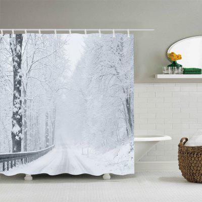 Snow Forest Road Print Fabric Waterproof Shower CurtainShower Curtain<br>Snow Forest Road Print Fabric Waterproof Shower Curtain<br><br>Materials: Polyester<br>Number of Hook Holes: W59 inch*L71 inch: 10; W71 inch*L71 inch: 12; W71 inch*L79 inch: 12<br>Package Contents: 1 x Shower Curtain 1 x Hooks (Set)<br>Pattern: Forest<br>Products Type: Shower Curtains<br>Style: Natural