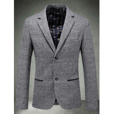 Casual Single Breasted Plaid BlazerMens Blazers<br>Casual Single Breasted Plaid Blazer<br><br>Closure Type: Single Breasted<br>Material: Polyester, Wool<br>Package Contents: 1 x Blazer<br>Shirt Length: Regular<br>Sleeve Length: Long Sleeves<br>Weight: 0.8200kg