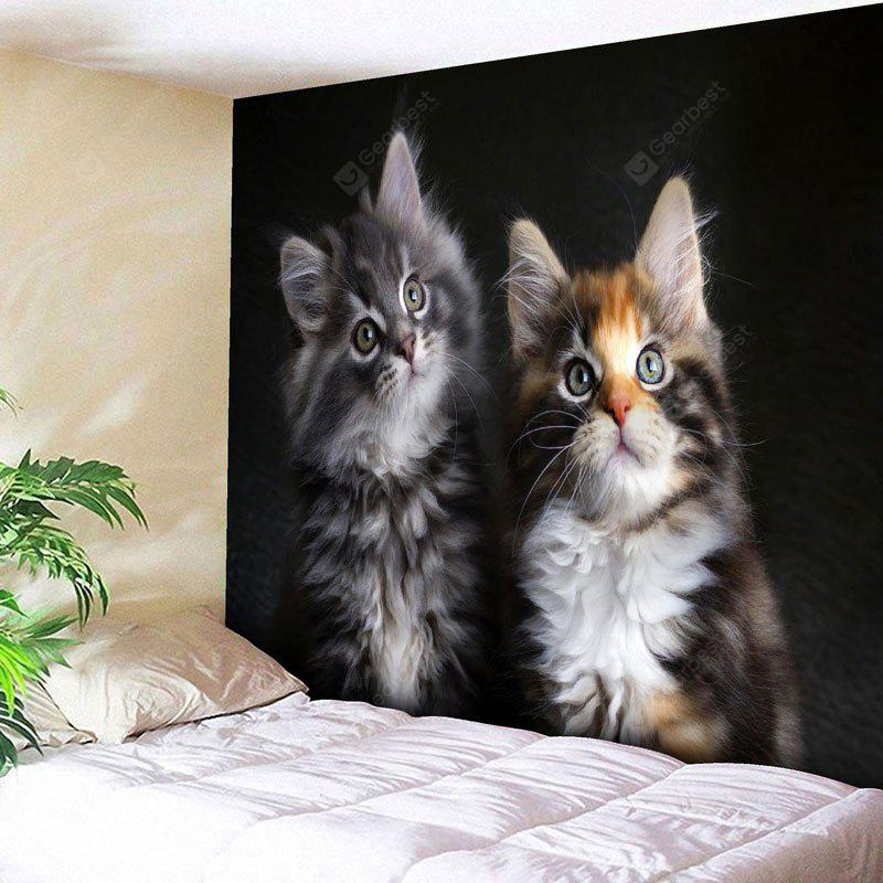 Bedroom Decor Cat Print Wall Tapestry