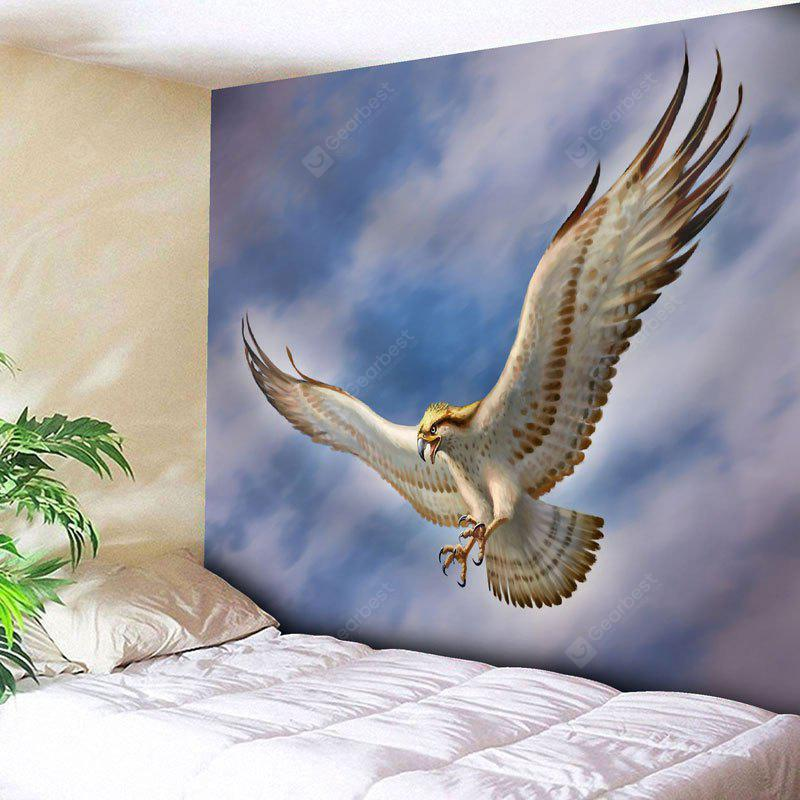 CLOUDY Wall Decor Flying Eagle Print Tapestry