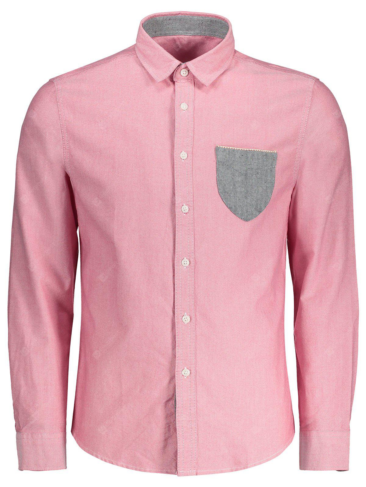 Pocket Button Up Shirt
