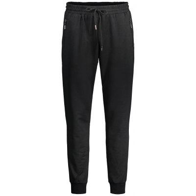 Zipper Pocket Drawstring Jogger Pants