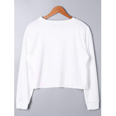 Swan Print Long Sleeve Crop TopBlouses<br>Swan Print Long Sleeve Crop Top<br><br>Collar: Round Neck<br>Material: Polyester, Spandex<br>Package Contents: 1 x Top<br>Pattern Type: Others<br>Season: Fall, Spring<br>Shirt Length: Crop Top<br>Sleeve Length: Full<br>Style: Fashion<br>Weight: 0.4000kg