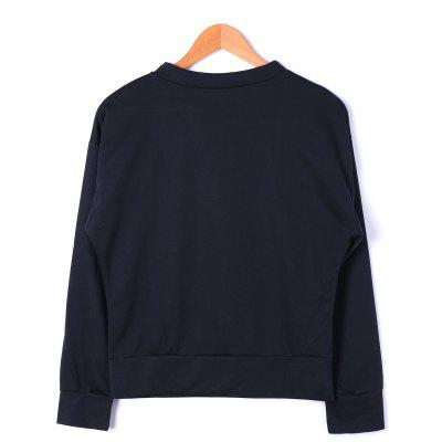 Crew Neck Embroidery TopBlouses<br>Crew Neck Embroidery Top<br><br>Collar: Crew Neck<br>Embellishment: Embroidery<br>Material: Polyester, Spandex<br>Package Contents: 1 x Top<br>Pattern Type: Solid<br>Season: Fall, Spring<br>Shirt Length: Short<br>Sleeve Length: Full<br>Style: Fashion<br>Weight: 0.4000kg