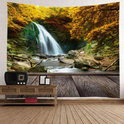 Wall Hanging Art Maple Forest Waterfall Print TapestryTapestries<br>Wall Hanging Art Maple Forest Waterfall Print Tapestry<br><br>Feature: Removable, Washable<br>Material: Polyester<br>Package Contents: 1 x Tapestry<br>Shape/Pattern: Forest<br>Style: Natural<br>Theme: Landscape<br>Weight: 0.3000kg