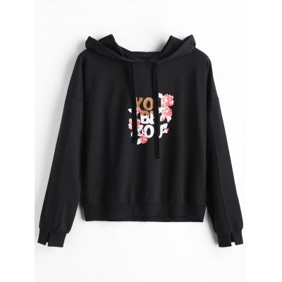 Floral You Be Ou Graphic Hoodie