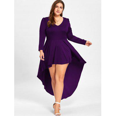 Plus Size V Neck Cocktail DressPlus Size Dresses<br>Plus Size V Neck Cocktail Dress<br><br>Dresses Length: Ankle-Length<br>Material: Polyester, Spandex<br>Neckline: V-Neck<br>Package Contents: 1 x Dress, 1 x Dress<br>Pattern Type: Solid Color<br>Season: Fall, Spring, Spring<br>Silhouette: A-Line<br>Sleeve Length: Long Sleeves<br>Style: Club<br>Weight: 0.4500kg, 0.4500kg<br>With Belt: No