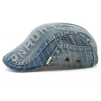 Outdoor JAMOMT Pattern Denim Cabbie HatMens Hats<br>Outdoor JAMOMT Pattern Denim Cabbie Hat<br><br>Circumference (CM): 57-59CM<br>Gender: For Men<br>Group: Adult<br>Hat Type: Newsboy Caps<br>Material: Jeans<br>Package Contents: 1 x Hat<br>Pattern Type: Letter<br>Style: Fashion<br>Weight: 0.1200kg