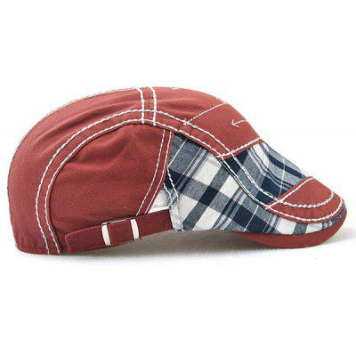 Outdoor Patchwork Pattern Embroidery Cabbie HatMens Hats<br>Outdoor Patchwork Pattern Embroidery Cabbie Hat<br><br>Circumference (CM): 56-60CM<br>Gender: For Men<br>Group: Adult<br>Hat Type: Newsboy Caps<br>Material: Polyester<br>Package Contents: 1 x Hat<br>Pattern Type: Others<br>Style: Fashion<br>Weight: 0.1200kg