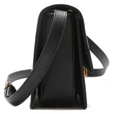 Metal Detailed Contrasting Color Crossbody BagCrossbody Bags<br>Metal Detailed Contrasting Color Crossbody Bag<br><br>Closure Type: Hasp<br>Gender: For Women<br>Handbag Size: Small(20-30cm)<br>Handbag Type: Crossbody bag<br>Main Material: PU<br>Occasion: Versatile<br>Package Contents: 1 x Crossbody Bag<br>Pattern Type: Others<br>Size(CM)(L*W*H): 23*7*16<br>Style: Fashion<br>Weight: 0.6000kg