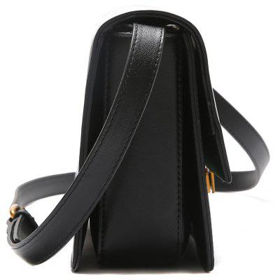 Metal Detailed Contrasting Color Crossbody BagMetal Detailed Contrasting Color Crossbody Bag<br><br>Closure Type: Hasp<br>Gender: For Women<br>Handbag Size: Small(20-30cm)<br>Handbag Type: Crossbody bag<br>Main Material: PU<br>Occasion: Versatile<br>Package Contents: 1 x Crossbody Bag<br>Pattern Type: Others<br>Size(CM)(L*W*H): 23*7*16<br>Style: Fashion<br>Weight: 0.6000kg