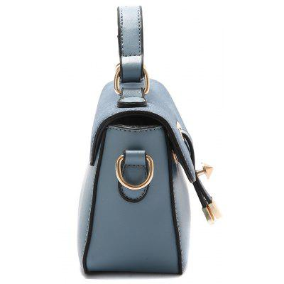 Color Block Metal Crossbody BagCrossbody Bags<br>Color Block Metal Crossbody Bag<br><br>Closure Type: Cover<br>Gender: For Women<br>Handbag Size: Small(20-30cm)<br>Handbag Type: Crossbody bag<br>Main Material: PU<br>Occasion: Versatile<br>Package Contents: 1 x Crossbody Bag<br>Pattern Type: Others<br>Size(CM)(L*W*H): 21*8*14<br>Style: Fashion<br>Weight: 0.6000kg