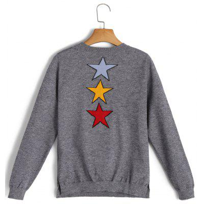 Cartoon Jacquard Pullover SweaterSweaters &amp; Cardigans<br>Cartoon Jacquard Pullover Sweater<br><br>Collar: Round Neck<br>Material: Acrylic, Cotton, Polyester, Spandex<br>Package Contents: 1 x Sweater<br>Pattern Type: Print<br>Sleeve Length: Full<br>Style: Fashion<br>Type: Pullovers<br>Weight: 0.3600kg