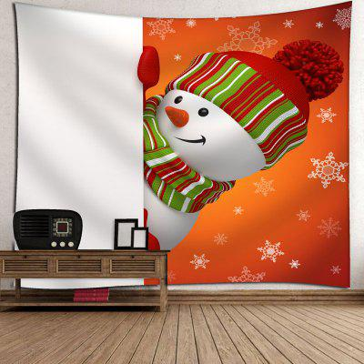 Wall Hanging Snowman Print TapestryCushion<br>Wall Hanging Snowman Print Tapestry<br><br>Feature: Removable, Washable<br>Material: Cotton, Polyester<br>Package Contents: 1 x Tapestry<br>Shape/Pattern: Snowman<br>Style: Cute<br>Weight: 0.3100kg