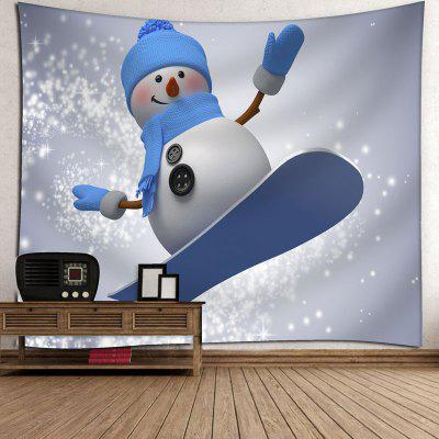 Snowman Skateboard Wall Hanging TapestryCushion<br>Snowman Skateboard Wall Hanging Tapestry<br><br>Feature: Removable, Washable<br>Material: Cotton, Polyester<br>Package Contents: 1 x Tapestry<br>Shape/Pattern: Snowman<br>Style: Cute<br>Weight: 0.3950kg