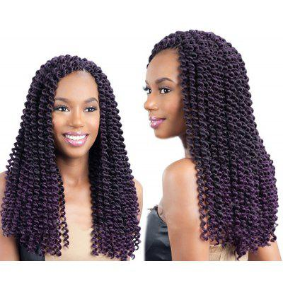 Long Afro Kinky Princess Curl Braids Synthetic Hair Weave