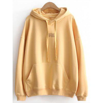 Letter Oversized Hoodie