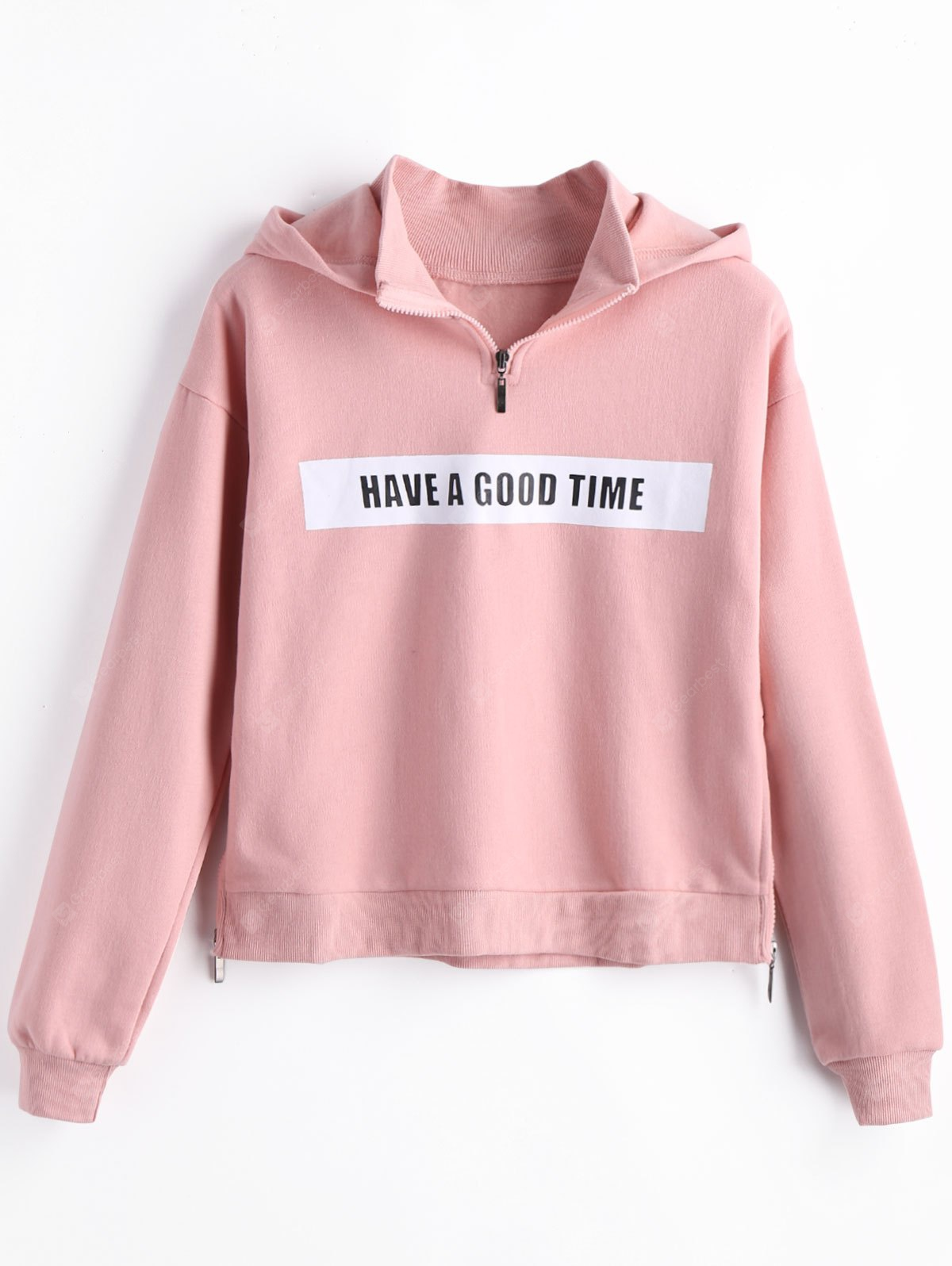 Fleece Have a Good Time Graphic Hoodie