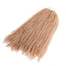 Long Shaggy Afro Kinky Curly Braids Synthetic Hair Weave
