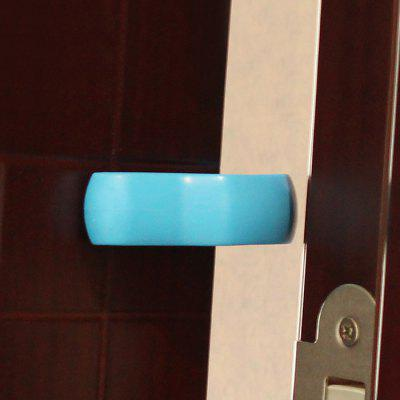 Buy BLUE Baby Safety U Shape Plastic Gate Card Security Door Stopper Clip for $2.34 in GearBest store