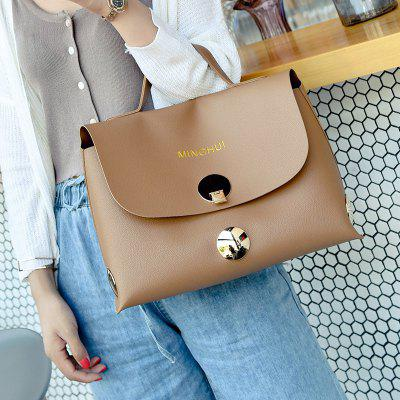 Faux Leather Metal HandbagHandbags<br>Faux Leather Metal Handbag<br><br>Closure Type: Cover<br>Gender: For Women<br>Handbag Size: Medium(30-50cm)<br>Handbag Type: Totes<br>Main Material: PU<br>Occasion: Versatile<br>Package Contents: 1 x Handbag<br>Pattern Type: Letter<br>Size(CM)(L*W*H): 35*15*24<br>Style: Fashion<br>Weight: 1.2000kg