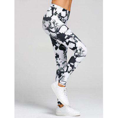 High Waisted Printed Skinny Yoga LeggingsPants<br>High Waisted Printed Skinny Yoga Leggings<br><br>Closure Type: Elastic Waist<br>Fit Type: Skinny<br>Length: Normal<br>Material: Polyester, Spandex<br>Package Contents: 1 x Leggings<br>Pant Style: Pencil Pants<br>Pattern Type: Print<br>Style: Active<br>Waist Type: High<br>Weight: 0.3700kg